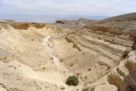 judea: Dry ravine in Judea desert in Israel.