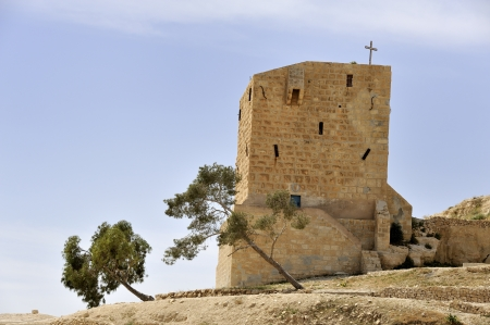 guesthouse: Guesthouse for pilgrims of Saint Sabbas monastery, Israel.
