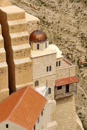 judea: mar Saba monastery in Judea desert near Jerusalem, Israel