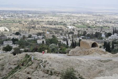judea: Ancient entrance to Jeri  1089;ho city from Judea desert