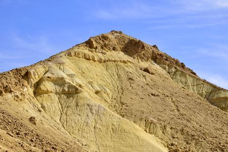negev: Arid mountain landscape in Negev desert, Israel.