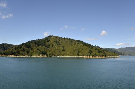 strait: Cook strait landscape, NZ