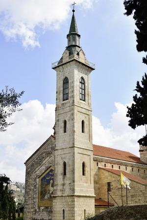 visitation: Visitation Church in Ein Kerem, Jerusalem, Israel