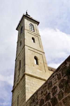 visitation: Steeple of the Visitation Church, Ein Kerem, Jerusalem, Israel