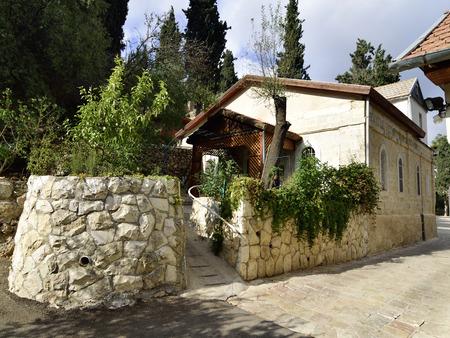 dwelling: Dwelling house in Gorny Russian Orthodox convent, Ein Kerem, Israel.