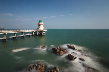 lighthouse at island