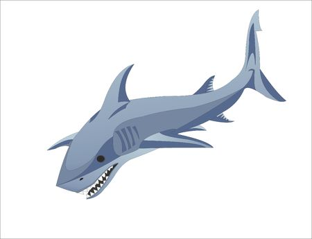 SEA AND SHADOW SHARK logo