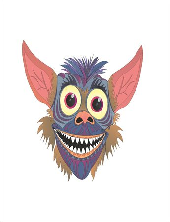 Gremlin funny cartoon toothache