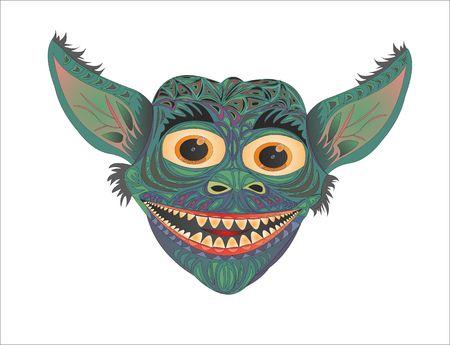 Gremlin Glory funny demon Иллюстрация