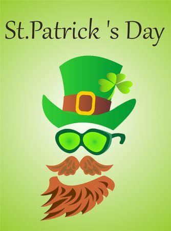 Patricks day holiday Illustration