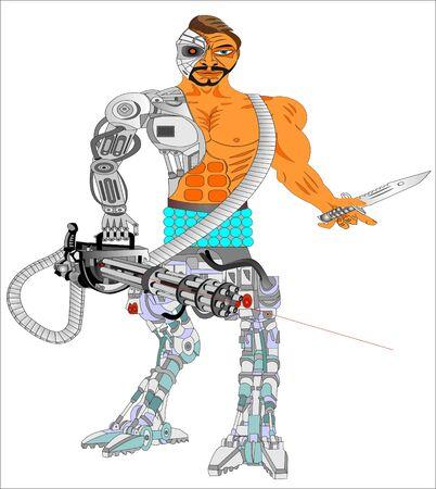 Terminator Robot Cyborg Killer Funny