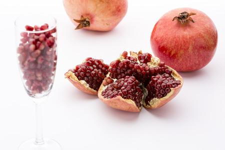 punica granatum: Seeds of the pomegranate, Punica granatum