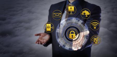 優良マネージャーを仮想サイバー セキュリティ メカニズムを提供します。コンピューター セキュリティ アプリケーション、暗号化、アクセス制限