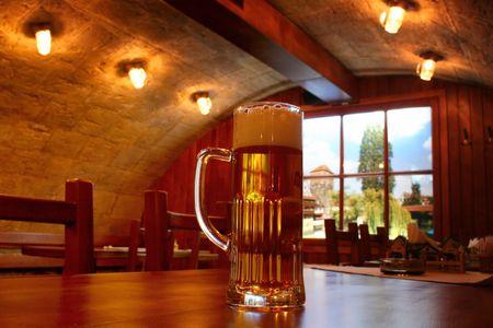 Inter pub  Stock Photo - 381139