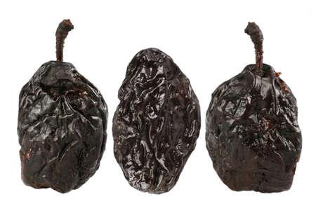 Dry plum fruit isolated on white background Stock Photo - 2255019