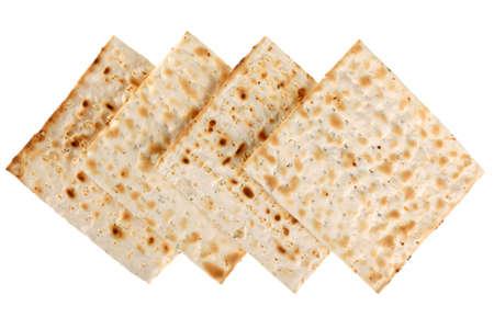 Unleavened bread traditiona isolated on white background Stock Photo - 2851510