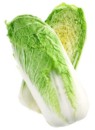 キャベツ中国 vegatable 白い背景で隔離