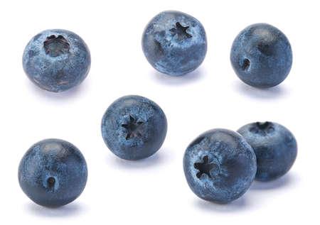 Sweet Blueberry berry close-up geïsoleerd op witte achtergrond