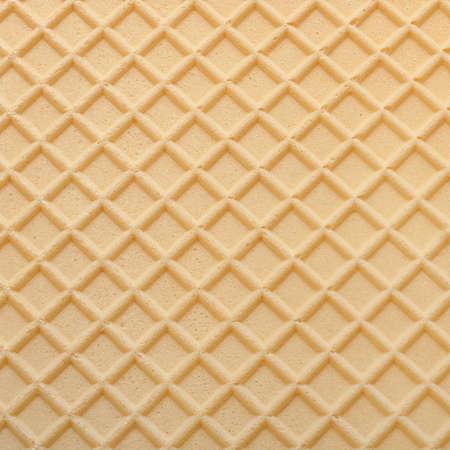 노란색 웨이퍼 질감 된 표면 근접 촬영 배경 스톡 콘텐츠 - 61006963