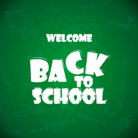 Vector illustration of Back to school background Illustration