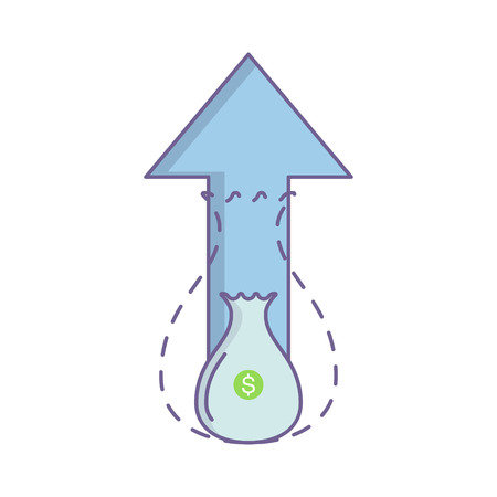 Business icons. Financial growth. Concept vector for web graphics.