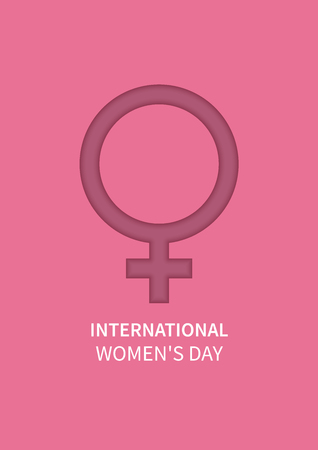 International Women's Day. The Holiday of All Women on March 8 Vectores