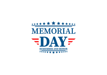 Happy Memorial Day template design