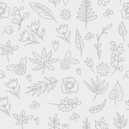 Floral seamless Texture. Bright background, summer theme seamless pattern. Vector wallpaper, summer texture, wrapping with flowers, spring and summer theme for your design