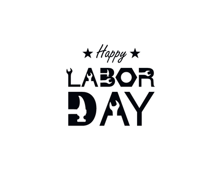 Happy Labor Day banner. Design template. Vector illustration Illustration