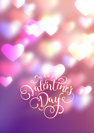 Hearts as background. valentines day concept. Vector illustration