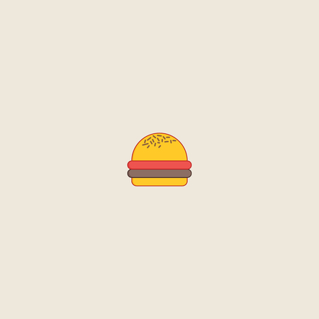 Hamburger icon isolated on grey background. Hamburger symbol for website design, mobile application, ui. Editable stroke. Vector illustration. Eps10 - Vector illustration