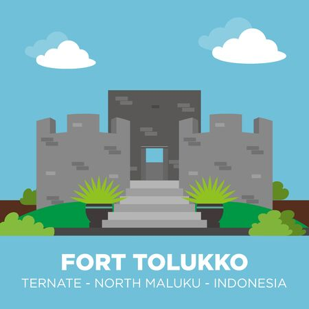 Fort Tolukko is a small fortification on the east coast of Ternate facing Halmahera. It was one of the colonial forts built to control the trade in clove spices, which prior to the eighteenth century were only found in the Maluku Islands.