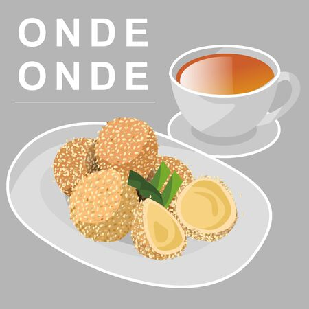 ONDE-ONDE IS ONE OF TRADITIONAL FOOD FROM EAST JAVA