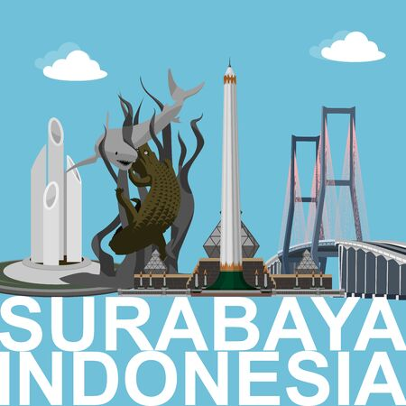 Surabaya City is the capital of East Java Province, Indonesia, as well as the largest metropolitan city in the province. Surabaya is also the second largest city in Indonesia after Jakarta. Illustration