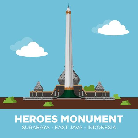 The Heroes Monument (Indonesian:Tugu Pahlawan) is a monument in Surabaya, Indonesia. It is the main symbol of the city, dedicated to the people who died during the Battle of Surabaya on November 10, 1945.