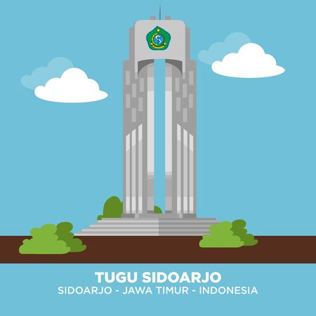 TUGU SIDOARJO or Sidoarjo Monument is a building that stands in the middle of Sidoarjo Square, East Java, Indonesia.