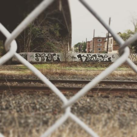 Hamilton street art Stock Photo