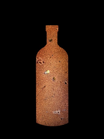 portal  cirrhosis of liver in a form of a bottle Stock Photo - 8949390