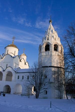 Pokrovsky Casa de las Monjas en Suzdal. Ciudad del Anillo de Oro de Rusia.