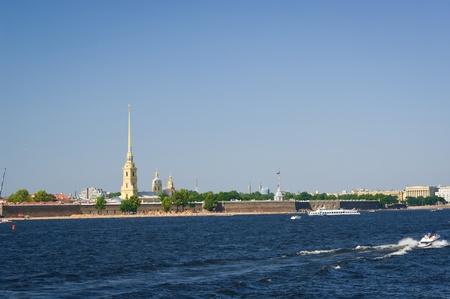 La Fortaleza de Pedro y Pablo, San Petersburgo, Rusia