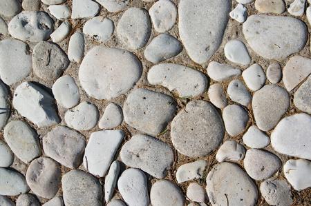 Pequeñas piedras de textura para su uso como fondo