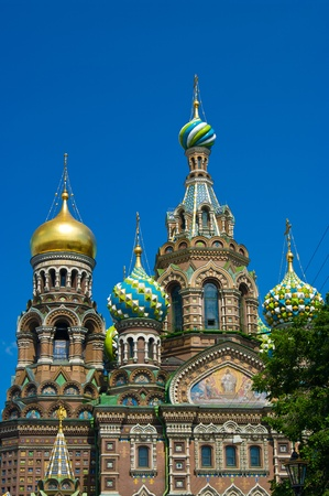 Church of the Savior on Spilled Blood, St. Petersburg, Russia photo