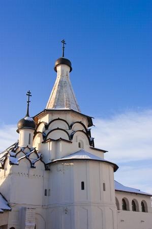 Salvador-Euvfimiev Monasterio en Suzdal - Ciudad del Anillo de Oro de Rusia.