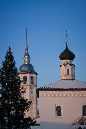 Nikolsky iglesia en Suzdal - Ciudad del Anillo de Oro de Rusia.