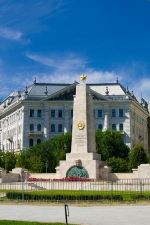 Monumento a los caídos de la Segunda Guerra Mundial en Budapest, Hungría