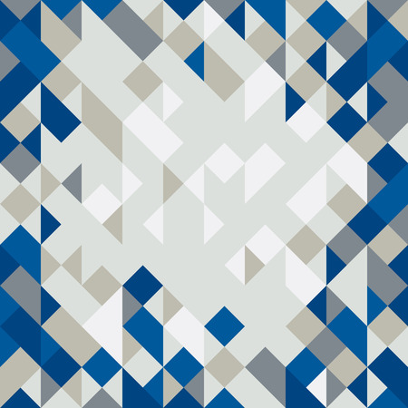 Abstract illustration wallpaper of geometric shape cubes
