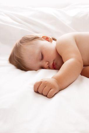 Baby sleeping Stock Photo - 7149375