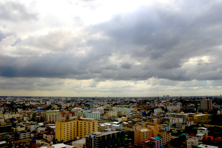 monsoon clouds: The rain coming to town