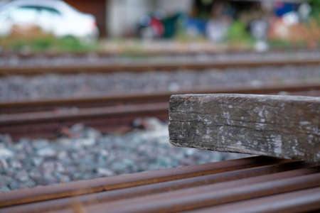 Railway sleepers, spare parts For assembling railway tracks