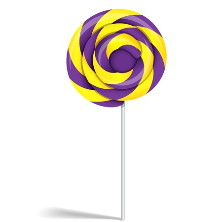 Lollipop candy Vector